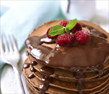 Easy Paleo Chocolate Pancakes