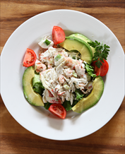 Paleo Crab and Avocado Salad
