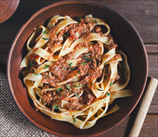 Paleo Fettuccini with Superfood Bolognese