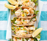 Paleo Shrimp Tacos with Mango & Cucumber