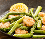 Pan Seared Shrimp and Asparagus