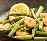 Pan Seared Shrimp and Asparagus