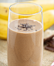 Peanut Butter Cup Smoothie Breakfast