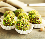 Pistachio-Orange Truffles