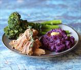 Pork Shoulder with Broccoli Raab