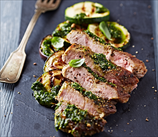 Pork Tenderloin with Zucchini