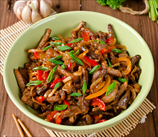 Pork and Pepper Stir Fry