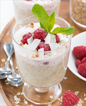 Keto Primal Nutmeal with Raspberries