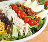 Quick Crab Cobb Salad