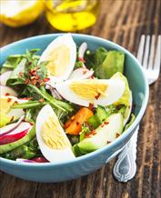 Quick Paleo Mediterranean Chef's Salad