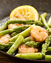 Quick Shrimp and Asparagus
