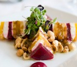 Roasted Beet, Orange & Goat Cheese Stacks