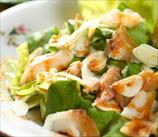 Romaine Salad with Seared Mahi Mahi