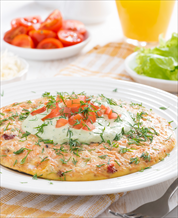 Keto Salmon and Feta Omelet