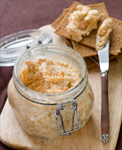 Keto Sardine Pate with Grain-Free Crackers