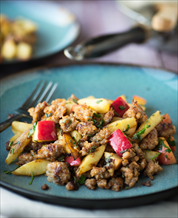 Sausage and Apple Breakfast Hash