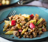 Sausage and Apple Hash