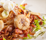 Scallop and Bacon Zoodle Bowl