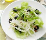 Shaved Fennel & Arugula Salad with Kalamata Olives