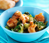 Shrimp and Broccolini Stir Fry