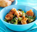 Shrimp and Broccolini Stir Fry