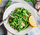 Simple Arugula Salad with Lemon Vinaigrette