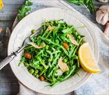 Simple Arugula Salad with Lemon Vinaigrette