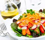 Simple Mixed Green Salad