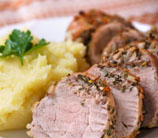 Slow-Cooker Pork Roast with Garlic, Rosemary & Lemon