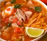 "Slow Cooker Chicken ""Tortilla"" Soup"