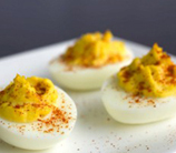 Spicy Chipotle Deviled Eggs