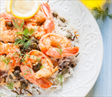 Spicy Fennel Shrimp