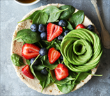 Spinach, Berry and Avocado Salad with Balsamic Vinaigrette