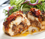 Spinach and Sun-Dried Tomato Stuffed Chicken Breasts