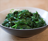 Steakhouse-Style Spinach with Garlic
