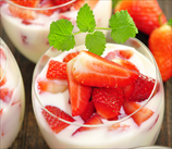Strawberries & Coconut Cream