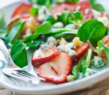 Strawberry, Baby Spinach and Pecan Salad