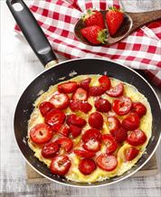 Strawberry Omelet