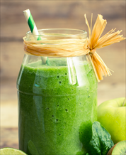 Super Green Apple-Ginger Smoothie