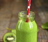 Super Green Kiwi-Cucumber Smoothie