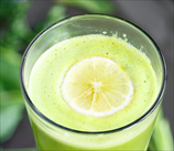 Super Green Lemon-Ginger Juice