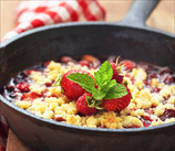 Superfood Berry Crumble