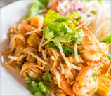 """Thai Chicken """"Pasta"""" in Sunbutter Sauce"""