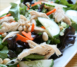 Thai Chicken Salad with Cashews and Coconut-Lime Dressing