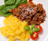 Turkey Bolognese with Spaghetti Squash