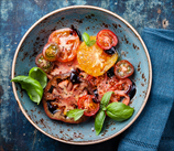 Vine-Ripe Tomatoes with Balsamic Drizzle