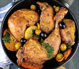 Zesty Orange and Olive Chicken
