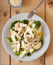Pork and Apple Salad with Mustard Vinaigrette