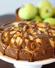 Dessert: Caramel Apple Cake