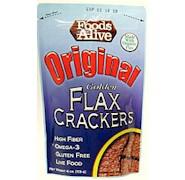 Foods Alive Original Golden Flax Crackers